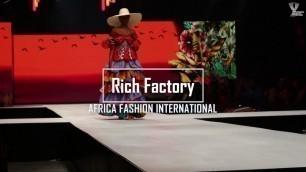 Rich Factory - African Fashion International | AFI - Joburg Fashion Week 2019 #AfricaFashionUnites