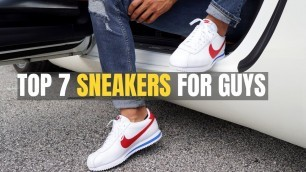 'TOP 7 Sneakers ALL Men Should Buy To Look Cool (Retro Inspired)'