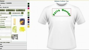 'T Shirts Design Software, Design T Shirts Software, Clothing Designer Software by CBSAlliance.com'