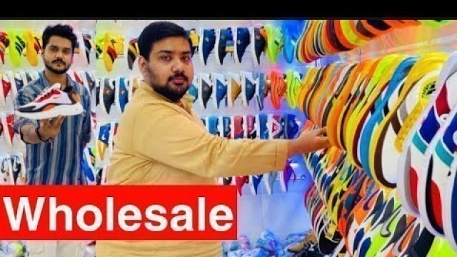 Shoes Wholesale Market | Branded Shoes Nike , Adidas , Puma | Ballimaran Delhi | Hamza Traders