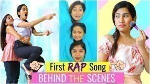 'The RAP Song - ANAYSA BEHIND The SCENES | #Beauty #Fashion #Makeup #DIML #Fun #ShrutiArjunAnand'