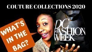 What I LEARNED at the DC FASHION WEEK 2020 for African Fashion| AFRICAN COUTURE COLLECTIONS| SWAGBAG