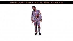 ❄️ Top African clothing customized tops+trousers sets Ankara outfits for men long sleeve shirt and