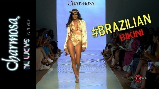 'CHARMOSA Swimwear Resort / Spring 2020 Runway Fashion Show | Brazilian Bikini @ NuWave Miami Swim'