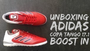 Adidas Copa Tango 17.1 IN 'Red Limit' | football shoes | brand new 2016 | HD