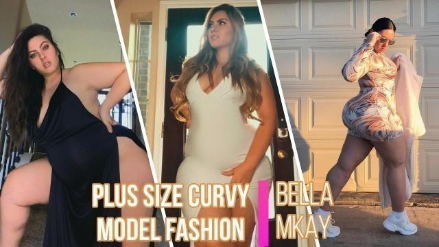 'Plus Size curvy Model Fashion bella mkay'