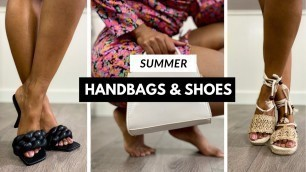 Affordable Summer Handbags and Shoes Haul and Try On