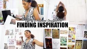 LIFE AS A FASHION DESIGNER E1 | FINDING INSPIRATION | TAKARA ONEÁ