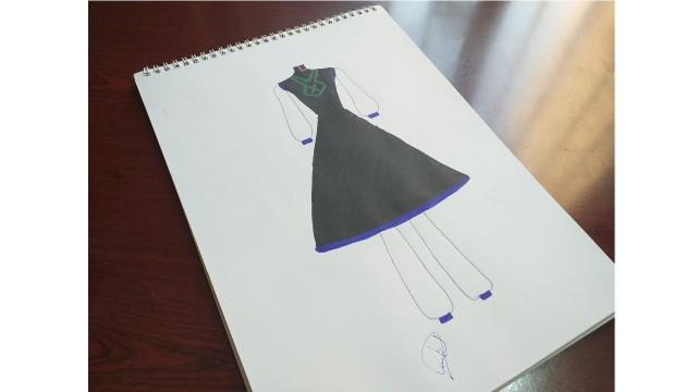 STEPS FASHION DESIGNER//FASHION DRESSES