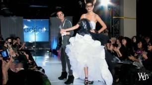 2010 Vancouver Fashion Week --designer Adrian Wu