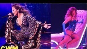 'Jennifer Lopez Wardrobe Malfunction - Hot Performance on Stage'