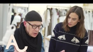 'Alexa Chung Behind The Scenes at Dior Haute Couture - Part One I ALEXACHUNG'