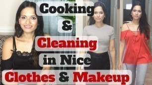 'Why I Dress Up Daily | Cleaning in Nice Clothes | Looking Presentable Always | Daily Grooming Habits'