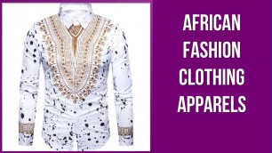 5 African Fashion Clothing Apparels To Own in 2020