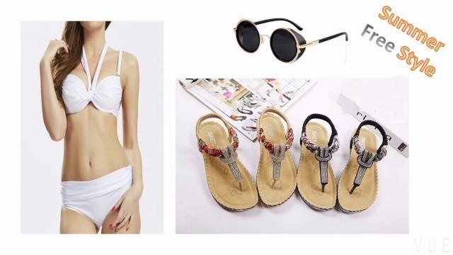 'Banggood.com-Women Sandals,Enjoy Your Summer !'
