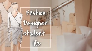 A Day In Life Of A Fashion Designer Student 10-9pm