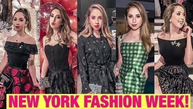 'Behind the Scenes at NYFW Feb \'19: Red Carpets, Runways, and More!'