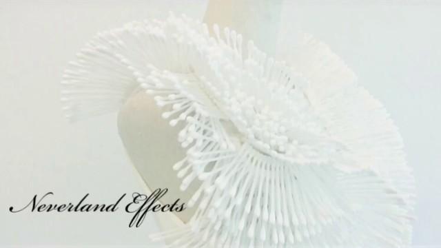 'Neverland effects Project : Cotton stick avant garde art fashion 2018'