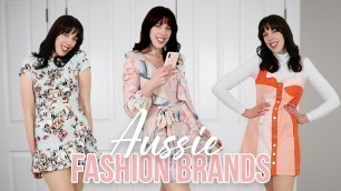 'AUSTRALIAN FASHION BRANDS you need to know'