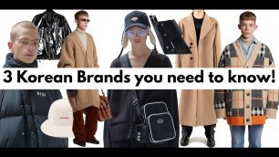 '3 Korean Brands you need to know'