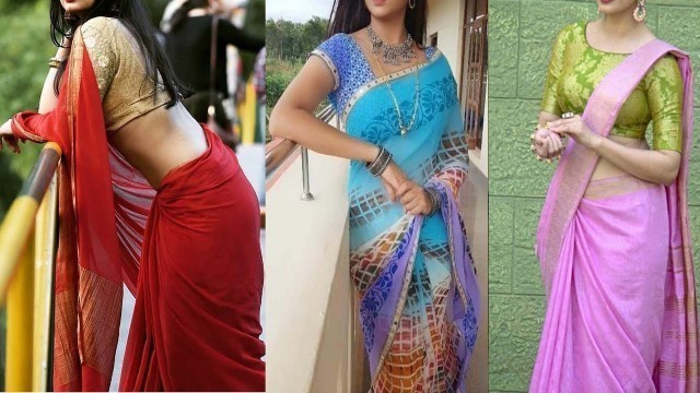 'Latest TOP 35 Most Beautiful Sarees ||  Saree Styles||Saree Models Collection|| The Fashion Zone'