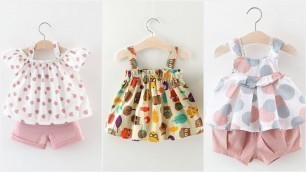 'Outfit dress design baby girl frock new collection best designs'