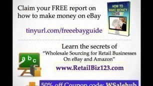 'What is Distributor - Wholesale, Retail definition series ebay Amazon'