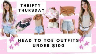 THRIFTY THURSDAYS AFFORDABLE FASHION HEAD TO TOE UNDER $100