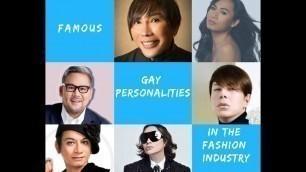 'Famous Filipino Fashion Designers int The Philippines'