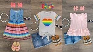 'Baby Outfits Designs Collection For Summer Season// Sleeveless Baby Outfit Design'