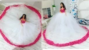 'DIY  Cute and Easy Barbie dress'