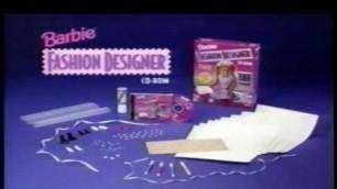 'Barbie Fashion Designer CD ROM from Mattel (1996)'