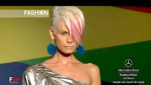 'GINGER AND SMART TEN YEARS Spring Summer 2012 2013 Australian Fashion Week - Fashion Channel'