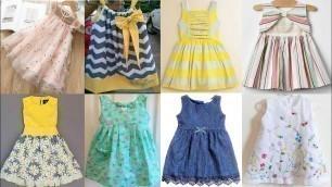 Sleeveless Baby Girls Dresses Design For Summer - Latest Fashion Design