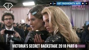 'Stella Maxwell Backstage Victoria\'s Secret Fashion Show 2018 | FashionTV | FTV'