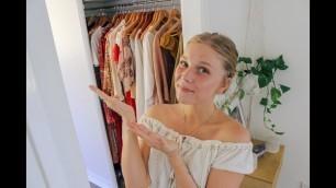 'ETHICAL CLOTHING WARDROBE TOUR!'