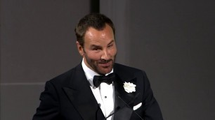 '2019 CFDA Fashion Awards: DVF and Tom Ford Share a Moment on Stage'