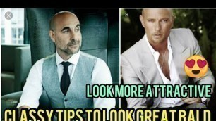 'Bald Style: 5 Classy Fashion and Styling Tips for Bald Men | Look Good Bald | Men\'s Fashion'