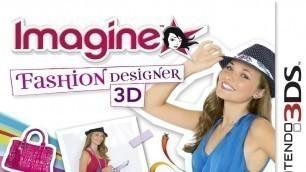 'Imagine Fashion Designer 3D Gameplay (Nintendo 3DS) [60 FPS] [1080p]'