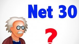 'What is Net 30 ? - Wholesale terms'