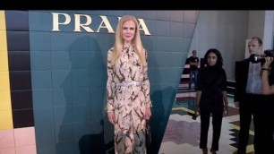 'Nicole Kidman and more Front Row for the Prada Fashion Show in Milan'