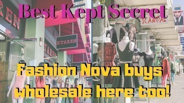 'Where Instagram Boutiques Buy Wholesale | Part 2 | Iconic Fashion Figure'