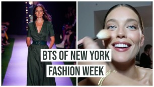'New York Fashion Week 2019 VLOG | BTS of NYFW with Model Emily DiDonato'