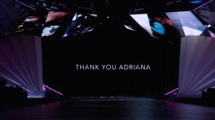 Tribute video to Adriana at her last Victoria's Secret Fashion Show 2018