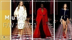 'Miu Miu | Fall Winter 2020/2021 - Full Show'
