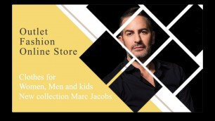 'Online fashion collection Marc Jacobs'