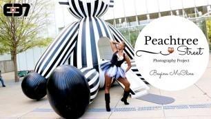 Tour Midtown Atlanta Street Photography | Fashion African-American Model