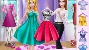 'Shopping Mall Girl Dress Up & Style Game - iPad app demo for kids - Ellie'
