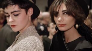 Giorgio Armani Pre-Fall 2020-2021 fashion show - Backstage Video
