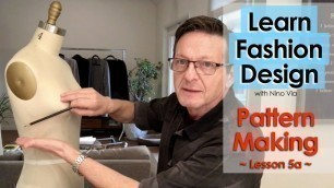 Pattern Making in Fashion Designing ~ Pivoting Darts ~ Learn FASHION DESIGN Online ~ Be A Designer